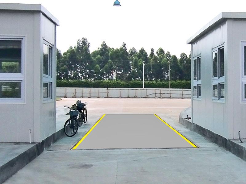 广州白云机场货运站称重汽车衡